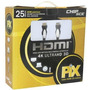 Cabo Hdmi 25 Metros 1.4 Com Ethernet Ultrahd 3d 4k Ps4 Xbox