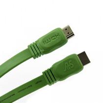 Cabo Hdmi 1,5m Flat Verde 1.4v 3d Ethernet 2k4k