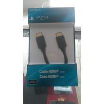 Cabo Hdmi (hdmi) Sony Para Ps3 Comp.1,90mt, Lacrado.