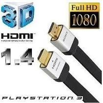 Cabo Hdmi Sony Dlc-he20hf Original 1.4a Xbox Ps3 Ps4 4k 3d
