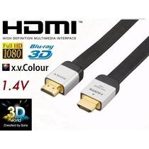 3x Cabos Hdmi Sony Dlc-he20hf Original 1.4a Xbox Ps4 4k 3d