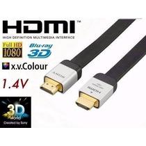 Cabo Hdmi Sony Dlc-he20hf Alto Desempenho Ouro 24k R$49,90