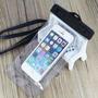 Capa Bolsa P/ Iphone E Galaxy Com Armband Case Prova D`água