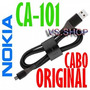 Cabo Usb De Dados Nokia Ca-101 Microusb - Genuino Confira!
