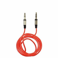 Cabo Auxiliar Fone P2 3.5mm Macho 1 Mt Ipod Mp3 Stereo Aux