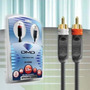 Cabo Rca Stereo Diamond Cable Jx-1055 - 3mts