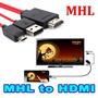 Cabo Mhl Adaptador Micro Usb Para Hdmi Galaxy Note