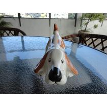 Lindo Cãozinho De Ceramica