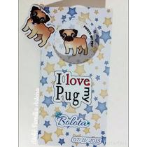 Carteirinha De Vacinação - Personalizada Pet - Pug...