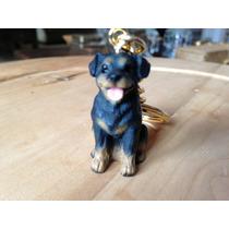 Rottweiler 2x Chaveiros Coleção Animal