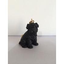 Shar - Pei Chaveiro Preto Cães De Raça Dog * Frete Grátis *