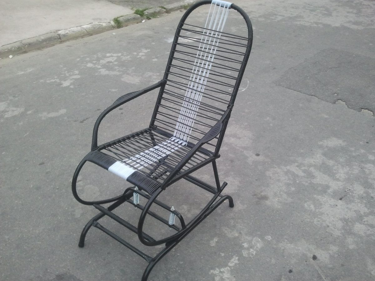 Cadeira De Balanço Com Base Fixa R$ 114 99 no MercadoLivre #36383D 1200x900