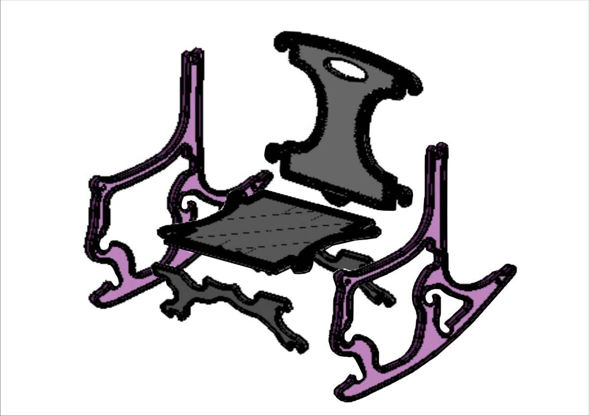 Cadeira De Balanço Infantil R$ 40 00 no MercadoLivre #854683 1200x849