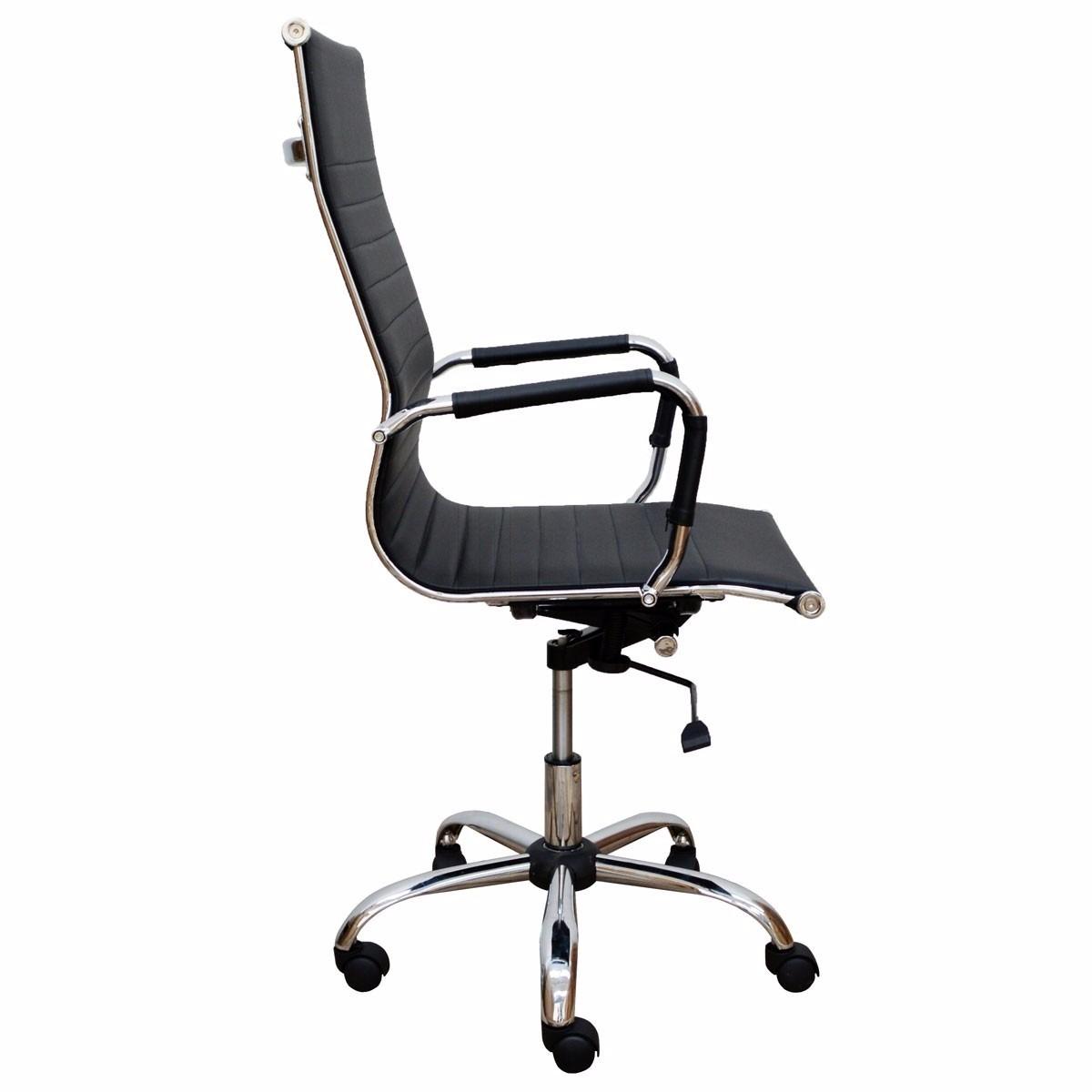 Cadeira De Escritório Giratória Em Couro Pu Com Relax R$ 549 99 no  #604D41 1200x1200