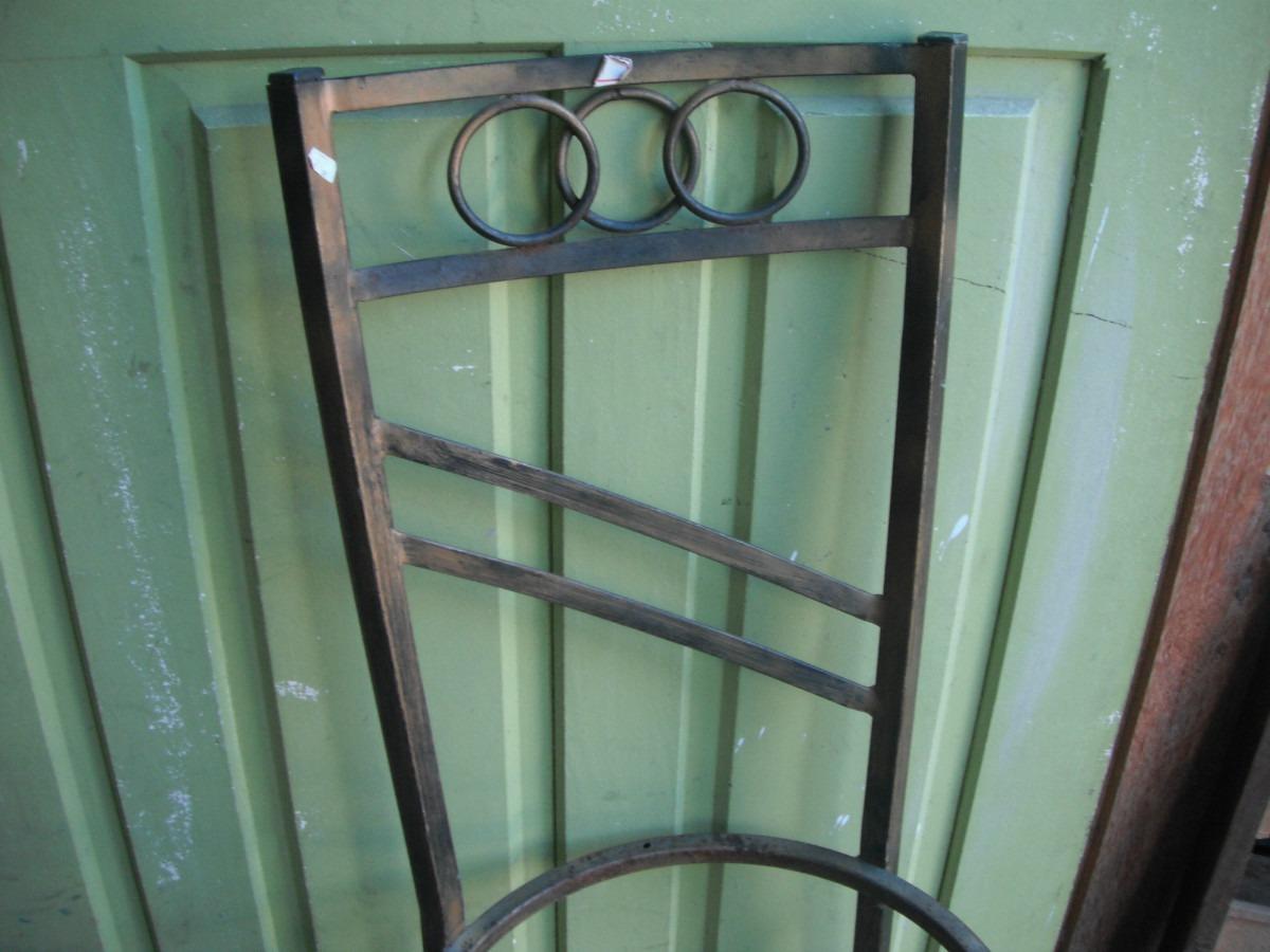 Cadeira De Ferro Antiga R$ 90 00 no MercadoLivre #4E7D6F 1200x900