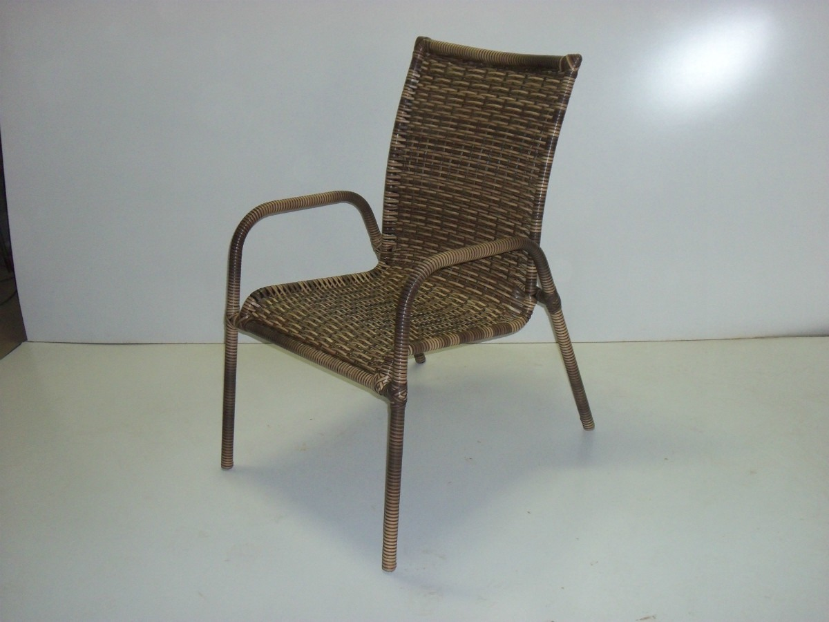 #5C4D3B Cadeira Em Fibra Sintética Cadeira De Varanda R$ 180 00 no  1200x900 px cadeira de balanço para varanda @ bernauer.info Móveis Antigos Novos E Usados Online