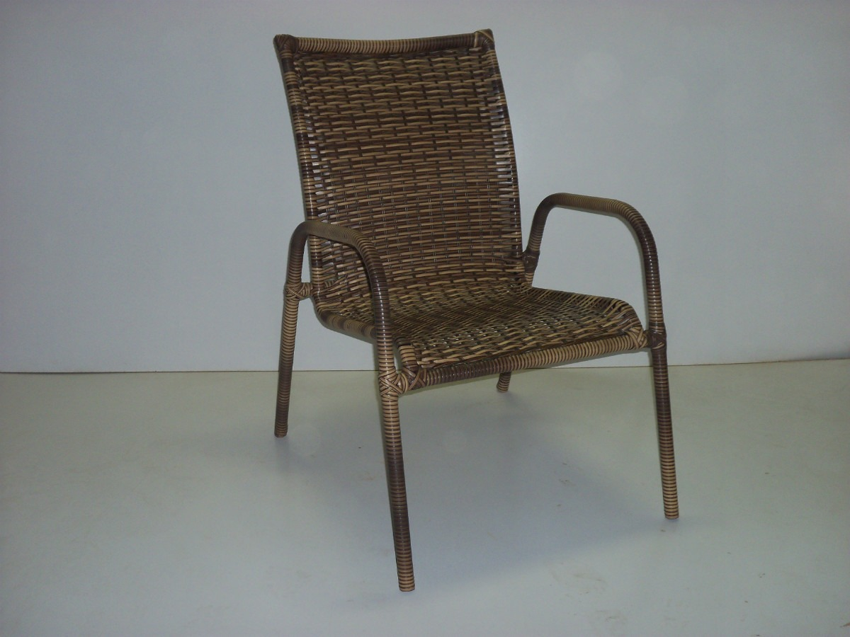 Cadeira Em Fibra Sintética Cadeira De Varanda R$ 180 00 no  #5C4B39 1200x900