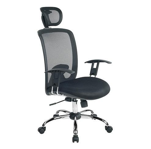Cadeira Escritório Executiva Presidente Tela - Nota Fiscal