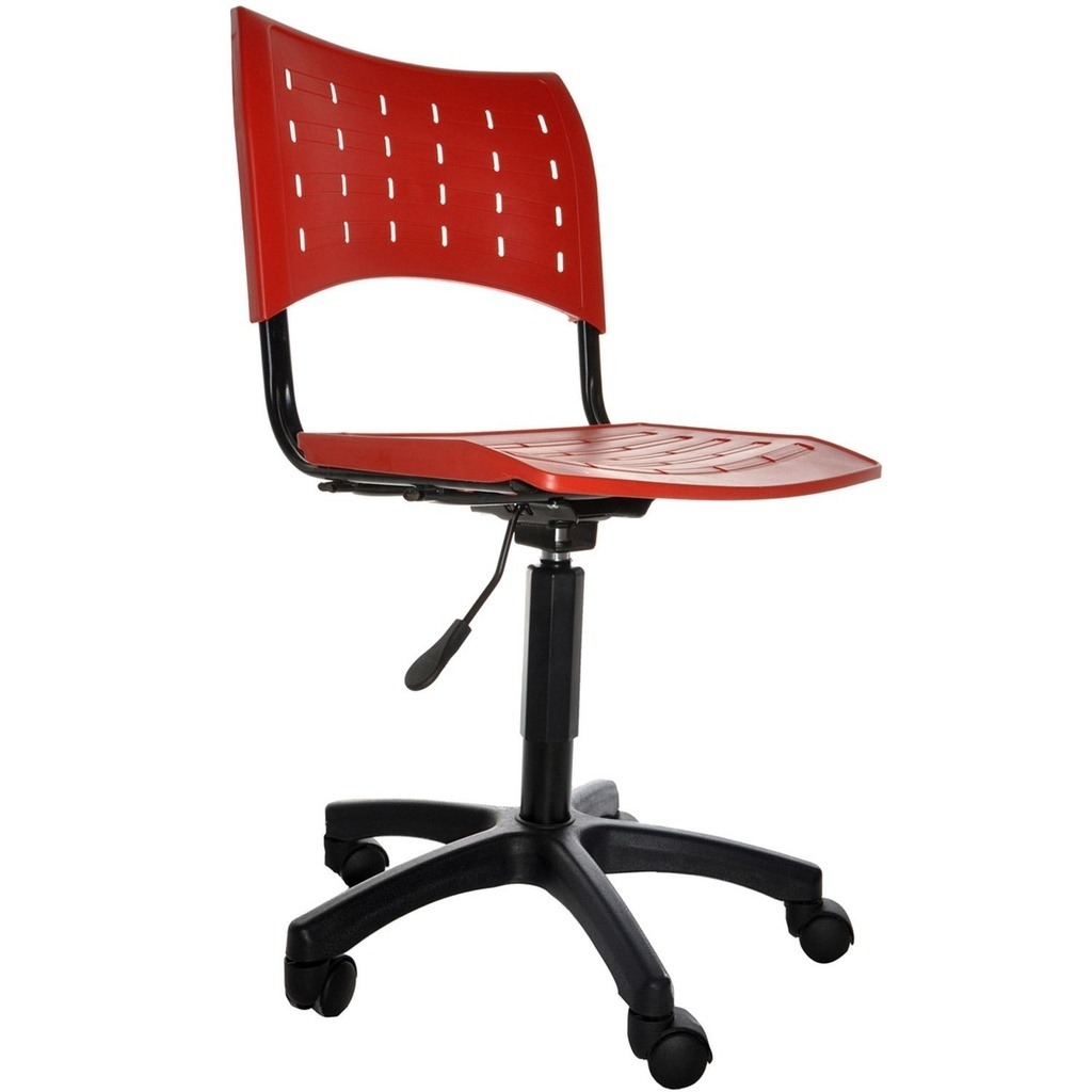 Cadeira Giratória Modelo Secretária Plástica. R$ 159 00 no  #AF261C 1024x1024