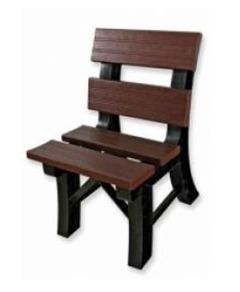 Cadeira Para Jardim Madeira Plástica
