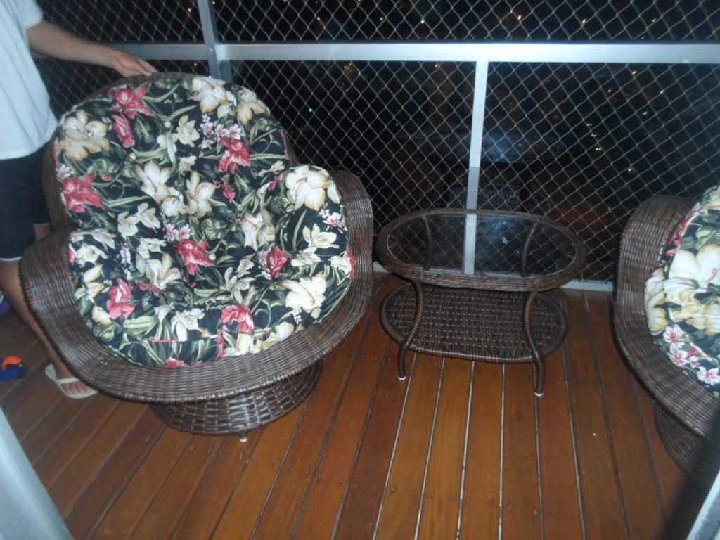 Cadeira Poltrona Giratória De Vime Sintético Frete Grátis Rj R$ 1  #6B452B 1024x768