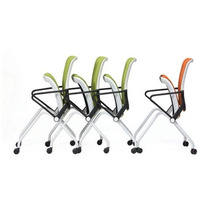 Cadeira Ly C/ Rodízios Ergonomica Tela Mesh Encosto Flexível