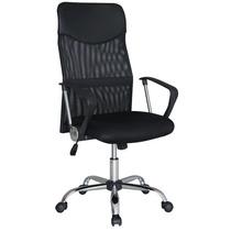 Cadeira Escritório Mesh Top Tela Cromo