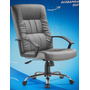 Cadeira Office Presidente Plus Couro Sintético Semi Nova