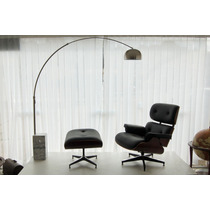 Poltrona Lounge Charles & Ray Eames Com Ottoman