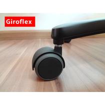 Jogo De Rodizio Original *anti Risco* Para Cadeiras Giroflex
