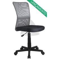 Cadeira Secretaria Tela Mesh Home Am-8055 Barata