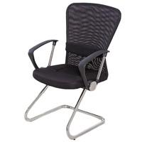Cadeira Mesh Para Escritório Fixa Com Apoio Para Os Braços