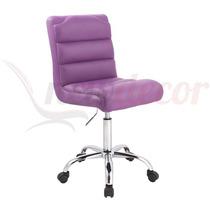 Cadeira Decorativa Australia Giratoria P/ Mesa/recepção/loja