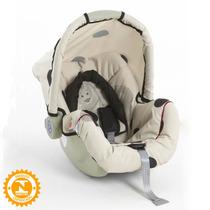 Cadeira P/ Auto Bebê Conforto Piccolina Preto Bege Galzerano