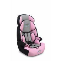 Cadeira Cadeirinha Carro Bebê 9-36 Kg Rosa - Frete Grátis