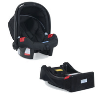 Bebe Conforto Auto Touring Evolution Burigotto Preto + Base