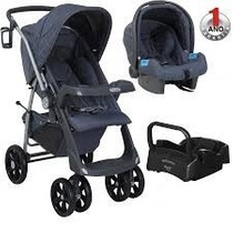 Travel System Burigotto Euro 6 Duomo + Bebe Conforto + Base