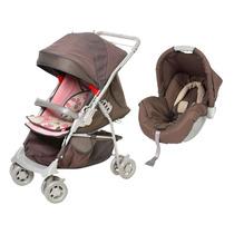 Carrinho De Bebê Maranello E Bebê Conforto Piccolina - C
