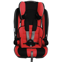 Cadeira Para Auto Burigotto 9 A 36 Kg Dinamika Red Black