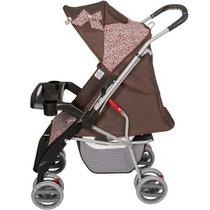 Carrinho Bebê Thor Tutti Baby Rosa Oncinha