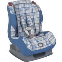 Cadeira Cadeirinha Para Carro Atlantis Xadrez Jeans 9-25kg