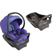 Bebê Conforto Maxi Cosi Mico Max 30 Roxo Com Base Preta