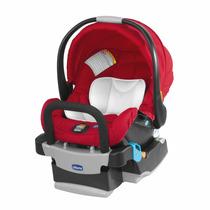 Bebê Conforto Key-fit Vermelho Chicco Para Auto (carro)