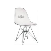 Cadeira Charles Eames Policarbonato Transparente