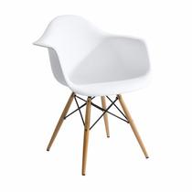Cadeira Charles Eames Wood - Daw - Com Braços - Desing