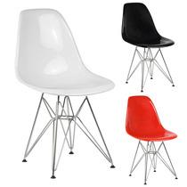 Cadeira New Eiffel Charles Eames Acrílica - 12x Sem Juros