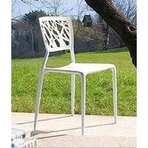 Cadeira Melissa Branca. Polipropileno Com Fibra De Vidro