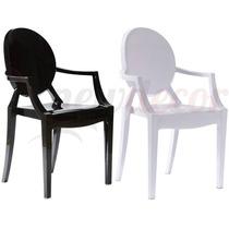 Cadeira Sophia Louis Ghost Em Pp C/ Braço - Cozinha/jantar