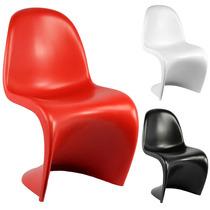 Cadeira Panton Fosca Em Pp - Cozinha/jantar/lazer/gourmet