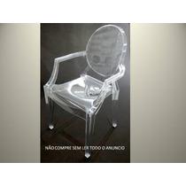 Cadeira Policarbonato Transparente Acrilico Ghost